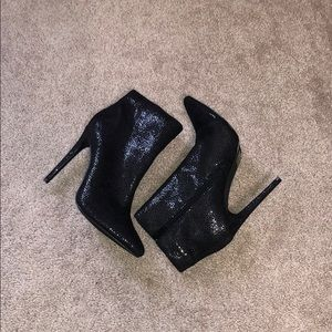 Shoes - Sparkly heel boots